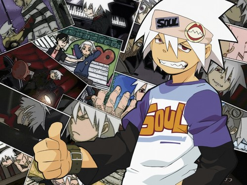 soul eater wallpaper containing animê titled Soul☠Eater(Evans)