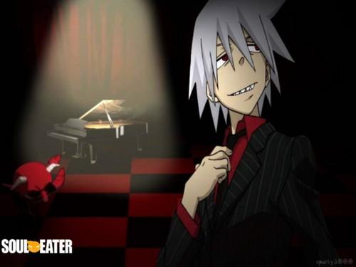Soul Eater (Пожиратель душ) Обои titled Soul☠Eater(Evans)