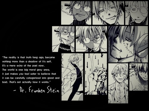 Soul Eater (Пожиратель душ) Обои containing Аниме entitled Soul☠Eater(Stein)