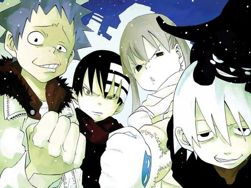 Soul Eater (Пожиратель душ) Обои probably with Аниме entitled Soul☠Eater