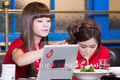 Soyul and Choa at Shanghai TV - crayon-pop photo