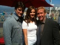 Stanathan-BTS pic - nathan-fillion-and-stana-katic photo