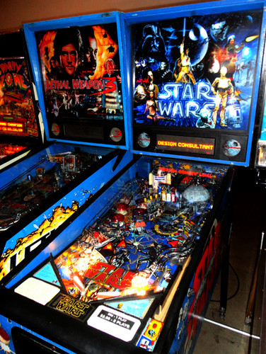 étoile, étoile, star Wars fond d'écran with animé entitled étoile, star Wars OT Pinball Machine