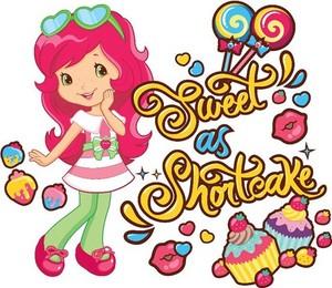 dâu, dâu tây loại bánh ngọt nhỏ, shortcake