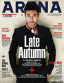 Super Junior's Siwon in 'Arena Homme+'  - super-junior photo