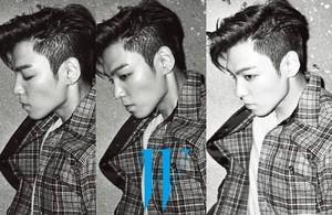 T.O.P for 'W Korea'