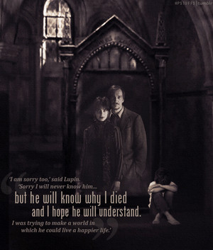 Teddy will never know lupin o Tonks