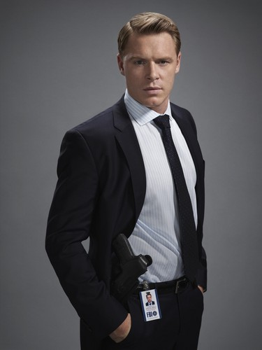 The Blacklist wallpaper containing a business suit, a suit, and a pinstripe entitled Donald Ressler