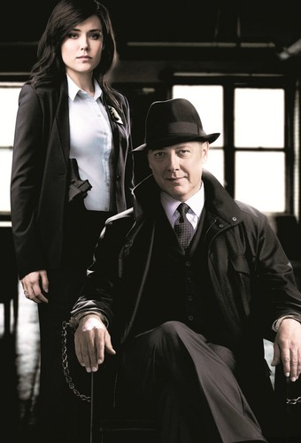 "The Blacklist wallpaper with a business suit called Elizabeth Keen & Raymond ""Red"" Reddington"