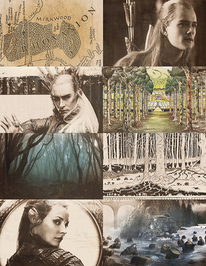 The Hobbit: Thranduil | Legolas | Tauriel