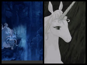 The Last Unicorn collage