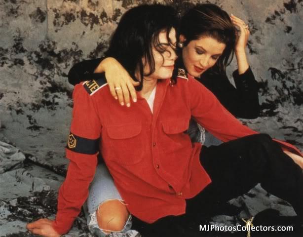 The Official 1994 Wedding Portrait Of Michael And Lisa ...