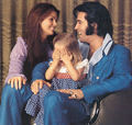 The Presley Family Back In 1971