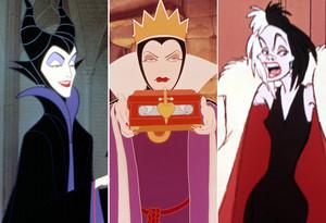 The Three Disney Villainesses