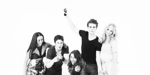 The Vampire Diaries Cast - Comic Con 2013