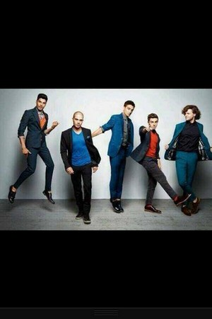 The Wanted Glamour Magazine