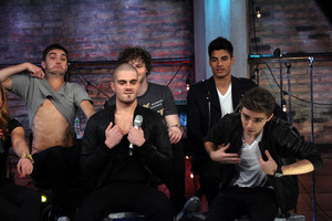 The Wanted ---> Tom's chest!!