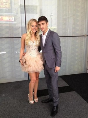Tom and Kelsey