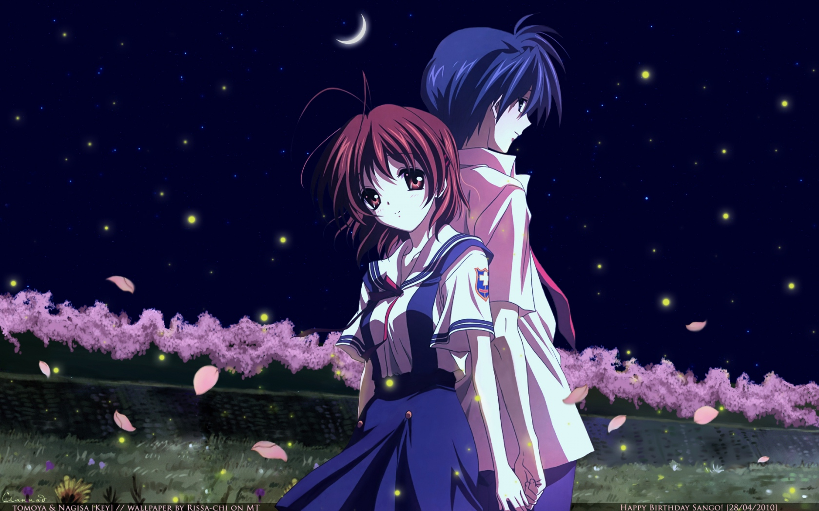 Tomoya and Nagisa - To...