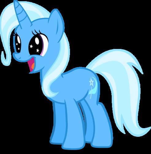 My Little pony - Freundschaft ist Magie Hintergrund called Trixie