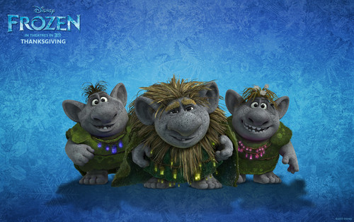 Frozen wallpaper entitled Trolls Wallpapers