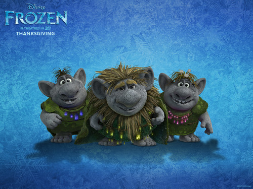 Frozen wallpaper titled Trolls wallpaper