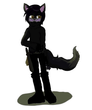 Twilight,the Wolf-Cat