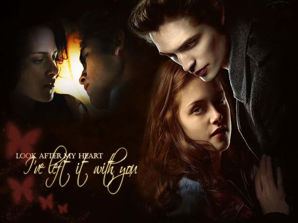 Twilight wallpaper edward bella jacob wallpaper for Twilight edward photos