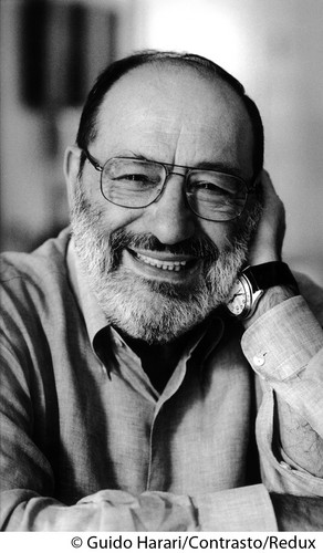 Poets & Writers वॉलपेपर titled Umberto Eco