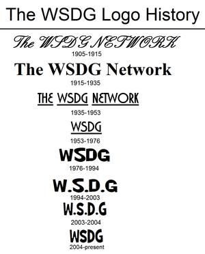 WSDG Logo History