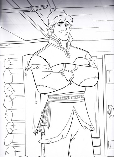 Walt Disney Characters wallpaper entitled Walt Disney Coloring Pages - Kristoff Bjorgman