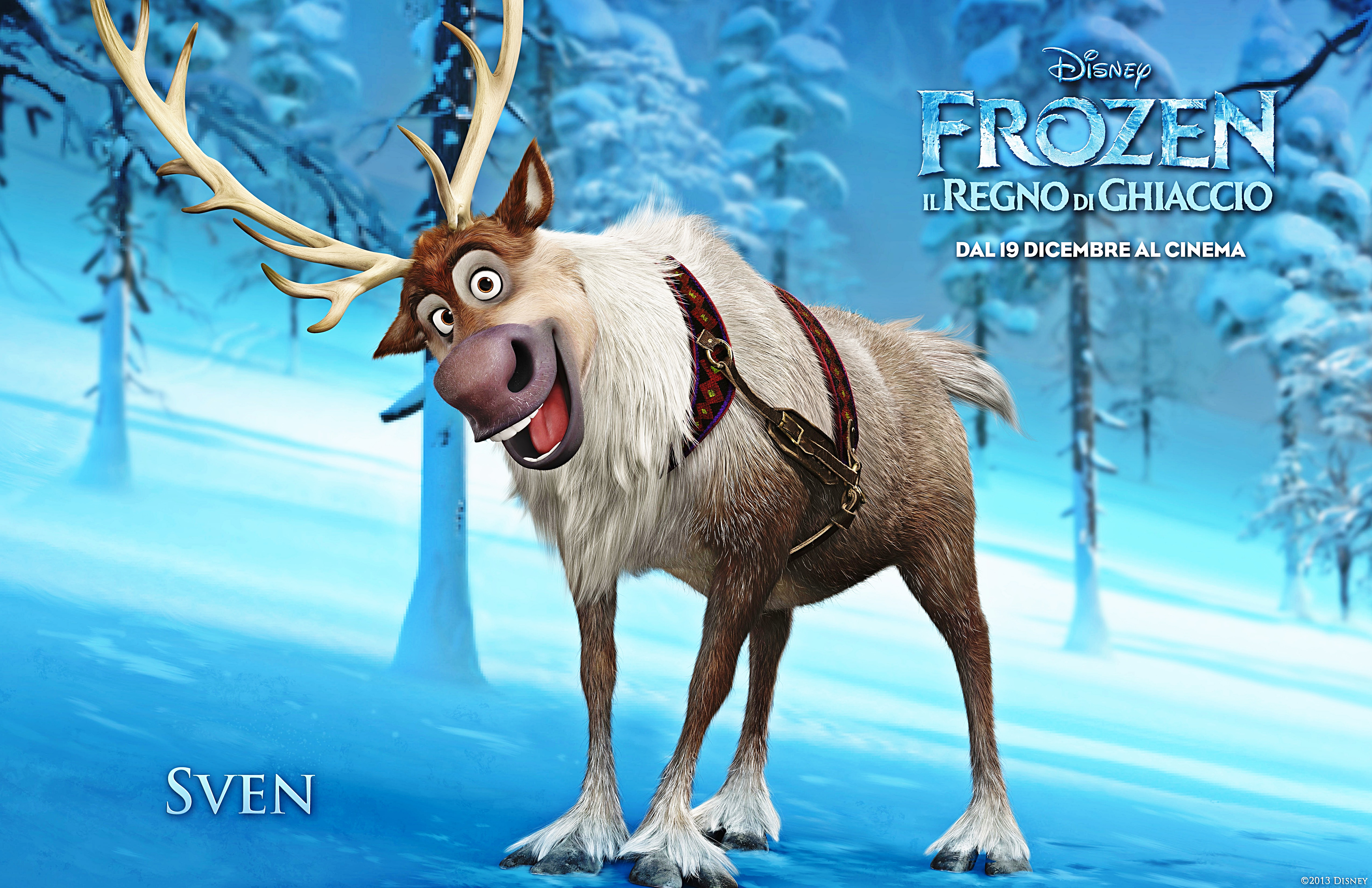 Walt Disney Characters images Walt Disney Posters - Frozen ... Disney Frozen Sven Wallpaper