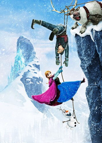 Walt Disney Characters achtergrond probably with a ski resort titled Walt Disney Posters - Frozen