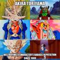 What Akira Toriyama Does... - dragon-ball-z photo