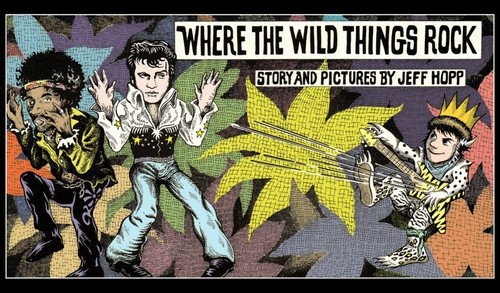 Where The Wild Things Are wallpaper containing anime entitled Where the Wild Things Rock
