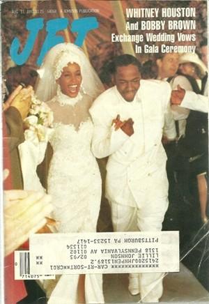 Whitney Houston And Bobby Brown's 1992 Wedding