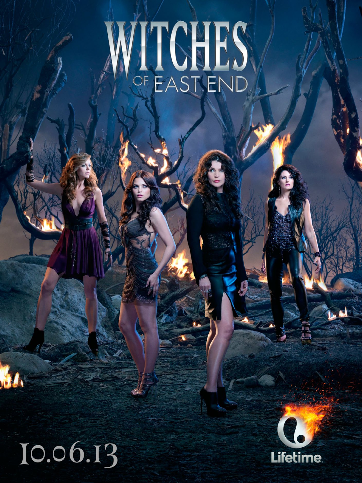 witches of east end poster witches of east end photo