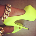 Yellow High Heels - high-heels photo