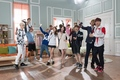 Yoona Sulli and EXO SKT LTE - f-x photo