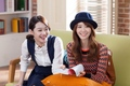 Yoona and Sulli SKT LTE - f-x photo
