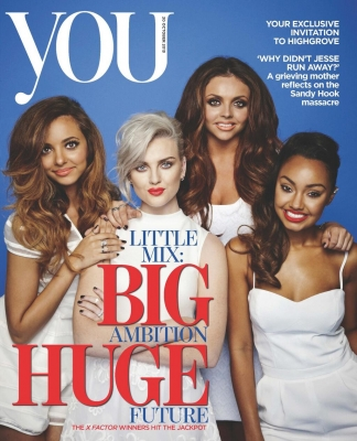 Little Mix fond d'écran with animé titled toi Magazine - November
