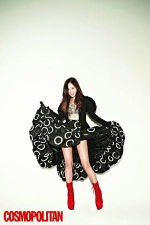 Yuri - Cosmopolitan Magazine November Issue '13
