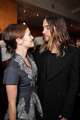 Zoey Deutch and Jared Leto- Dallas Buyers Club pemiere