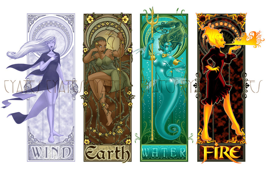 The Four Elements images Air, earth, water, fire HD wallpaper and ...