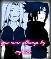 allways there - sasusaku fan art