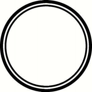 black círculo