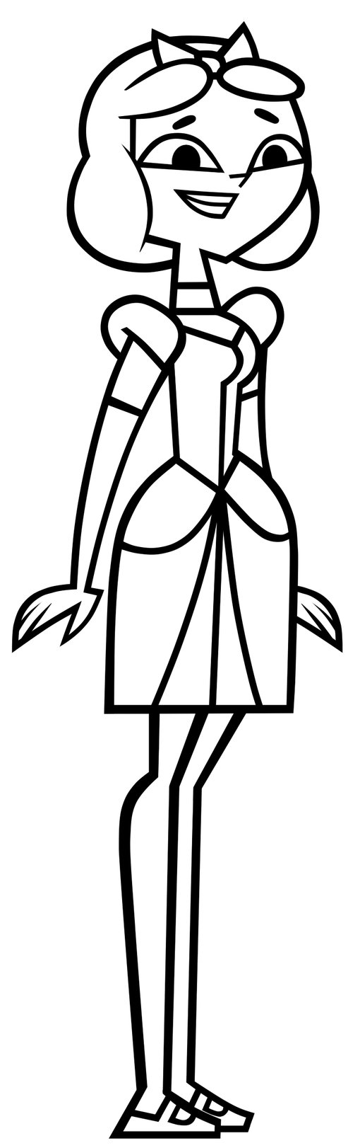 Total drama island free colouring pages for Total drama coloring pages