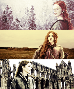 Catelyn, Sansa & Arya