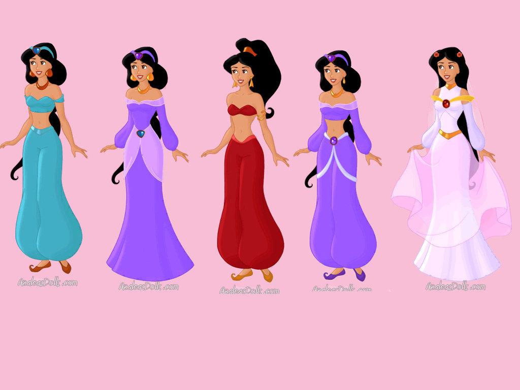 Disney Princess Jasmine Slave | hairstylegalleries.com
