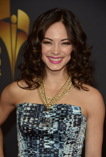 Kristin Kreuk wallpaper possibly containing a cocktail dress and a dinner dress called kristin 2013